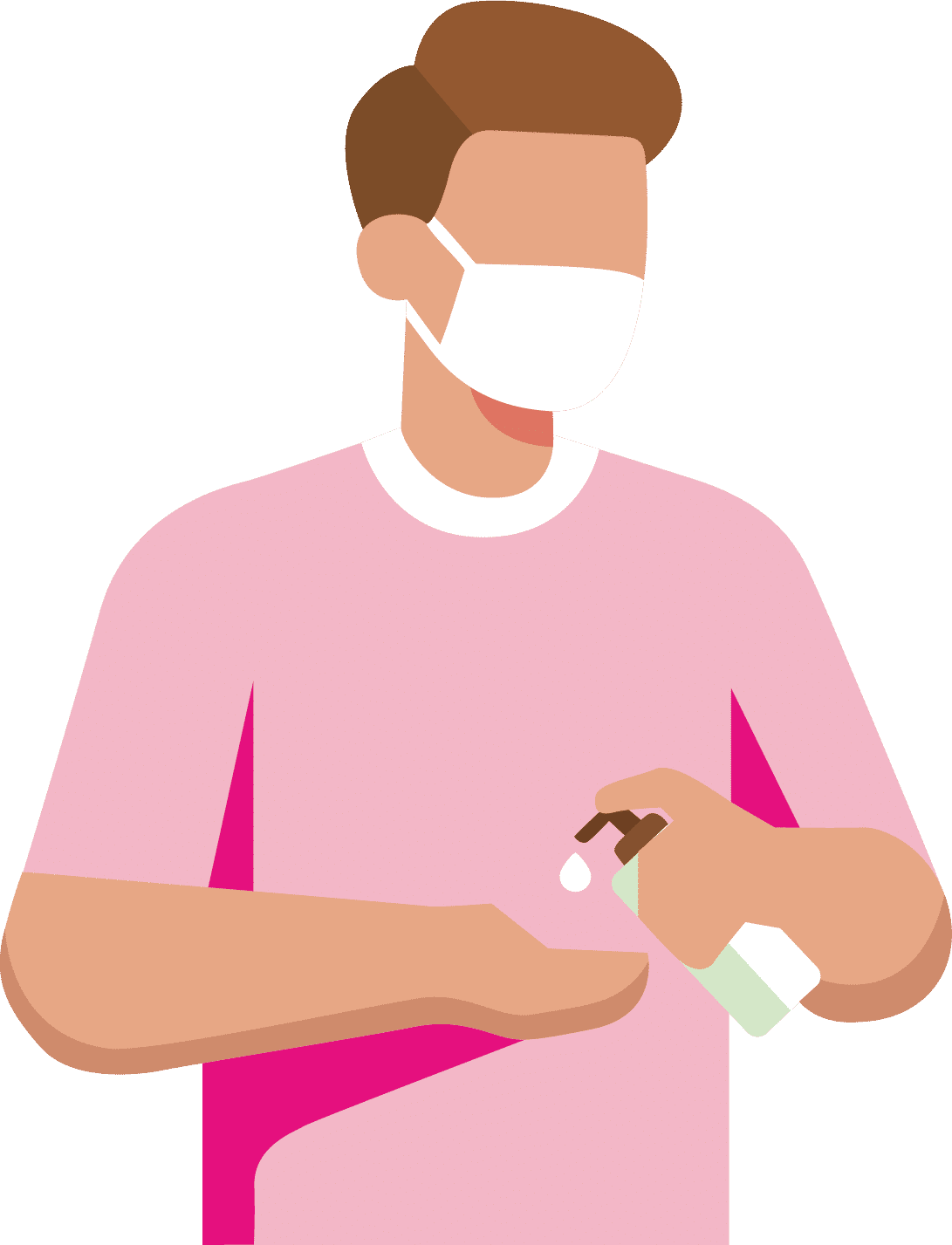 Persona mesures sanitaires